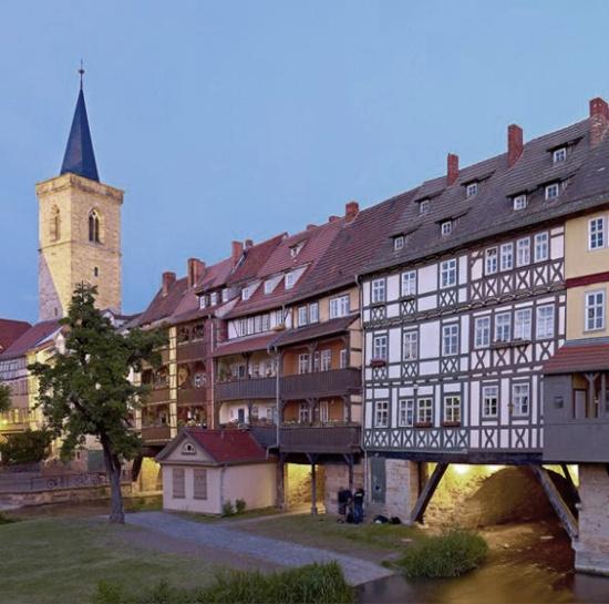 Bild: Pures Altstadtflair im Herzen von Erfurt