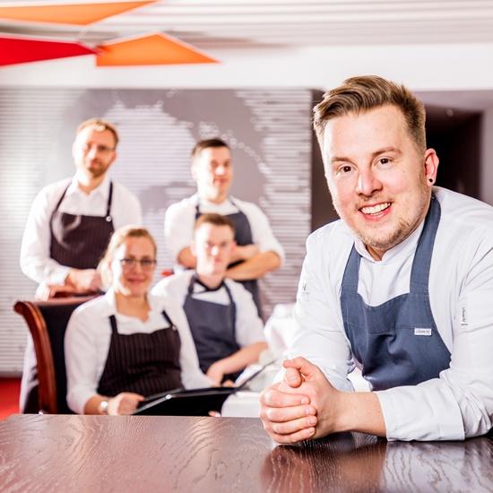 Bild: Küchenchef Arne Linke