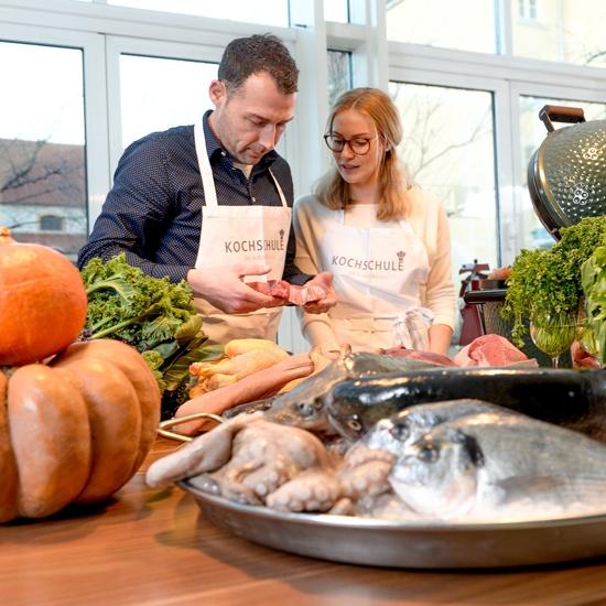 Bild: Kochkurse in der Kochschule im Kaisersaal