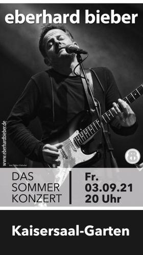 Bild: 03.09.2021 - EBERHARD BIEBER - DAS SOMMERKONZERT