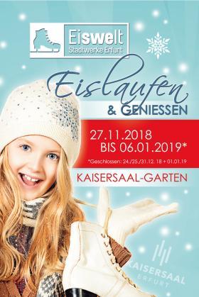 Bild: SWE-Eiswelt im Kaisersaal-Garten