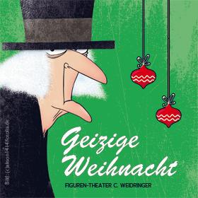 Bild: Geizige Weihnacht - Die Weihnachtsgeschichte von Charles Dickens